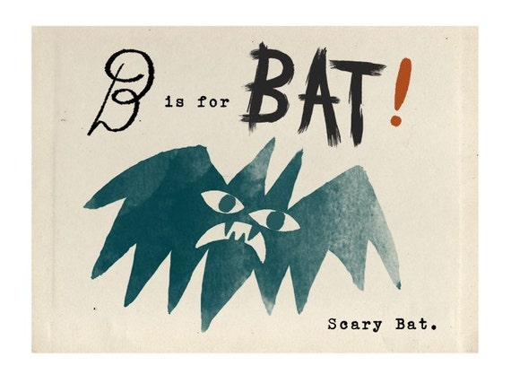 B is for Bat