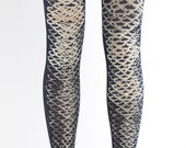 Shark, printed cotton tights, one size, Wild collection