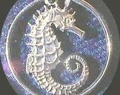 Seahorse Cut Coin Pendant Singapore ten cent coin ,very nice