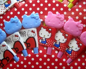 Cute Hello Kitty Topper-Picks (set of 12)