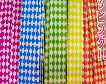 Cute Checkers twist ties (set of 40)