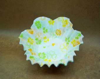 Cute Hearts floral candy cups (set of 20)