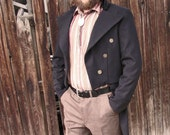Wool Dress Coat--A Custom Tailcoat in Your Size