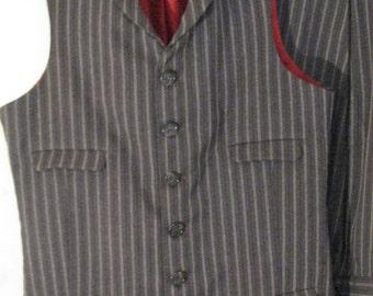 Custom Four Pocket High Collared Vest