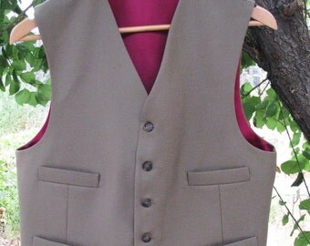 Custom 4 or 6 Button Vest