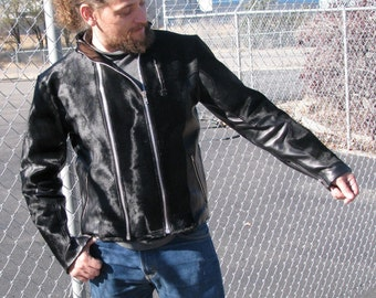 Custom Leather Jackets--Your design, Muslin fit