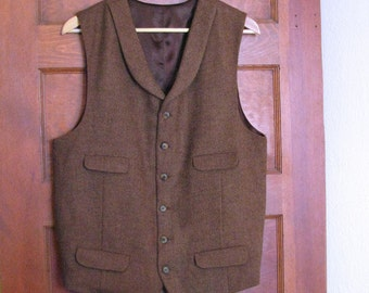 Custom Tweed Vests