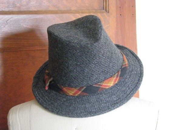 Tweed Fedora Hats