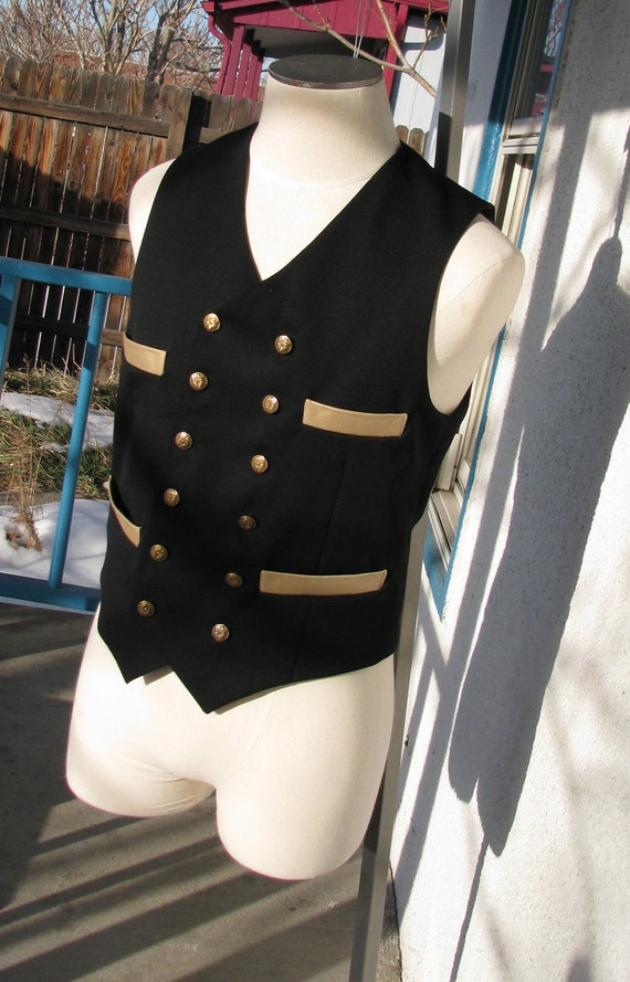 Custom Double-Breasted Vests