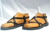 ANANIAS Greek Sandals Roman Grecian handmade leather sandals-NEW STYLE