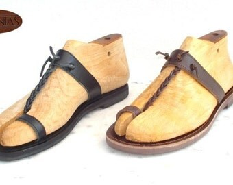 Greek Sandals Roman Grecian leather sandals for men handmade in Greece