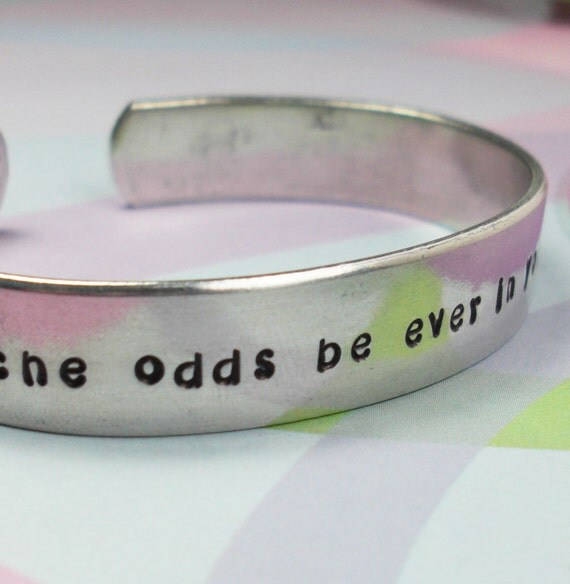 Hunger Games Bracelet: May the odds be ever in your favor.