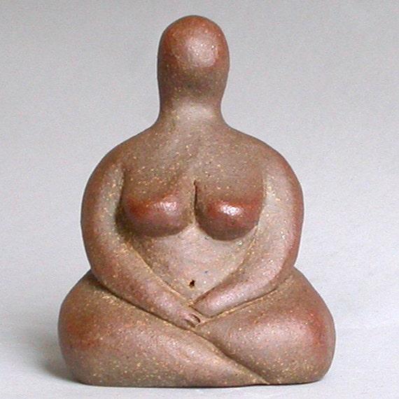 Small Seated Goddess