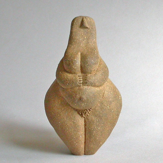 NOT for sale - RESERVED for Angeline - Pear Shaped Earth Mother