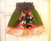 SALE Tiered Skirt Size 7-8 Long