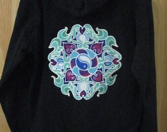 Dreamcatcher Zip Hoodie - size medium