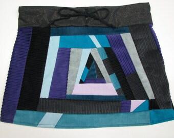 Lola Patchwork Mini Skirt