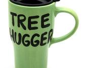 Ceramic Travel Mug Eco Friendly Go Green