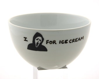 I Scream For Ice Cream Bowl