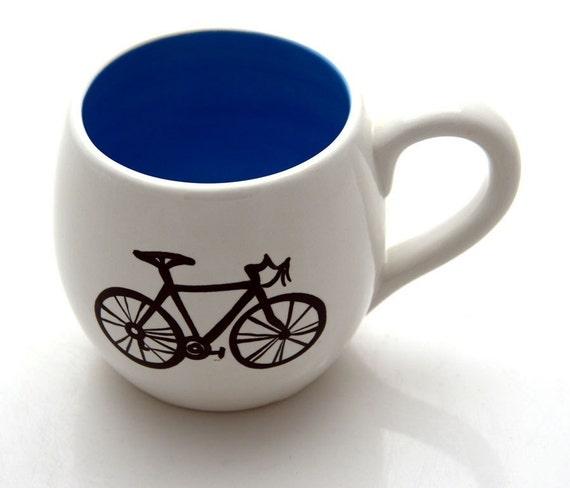 Tea Cup Small Mug Bike Lover