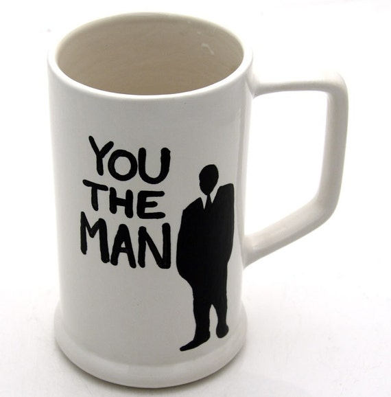 RESERVED for samantha walker You The Man Beer Stein Gift For Him