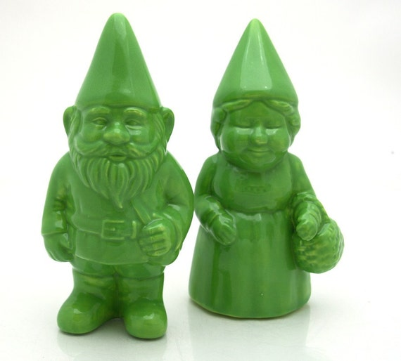 Mr. and Mrs. Garden Gnomes