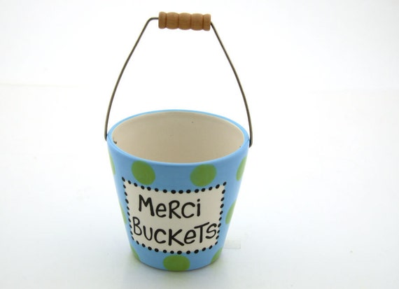 Merci Buckets Thank You Gift By Lennymud On Etsy