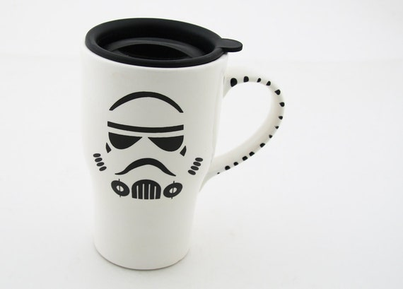 Trooper travel mug for Dad, great gift for star wars (R)  fan