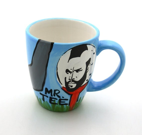 Mr T Tee Golf Mug Limited Edition for Fathers Day