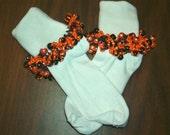 Beaded Socks for Halloween