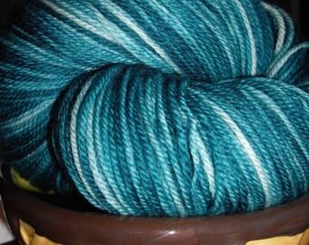 Sock Yarn 100% Superwash Merino - Soft Serve - Waterfall