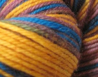 Half off save 50% - Sock Yarn Superwash Merino/Nylon - Ice Cream Sundae - Portland's Passion