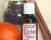 KITCHEN SPICE Blend of pure essential oils of cinnamon, clove, orange and ginger, potpourri oil, home fragrance
