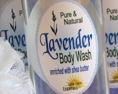 LAVENDER Body Wash - refreshing, soothing, with Bulgarian Lavender Essential Oil