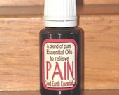 PAIN - pure  Essential Oils - all natural remedy, great for massaging sore muscles