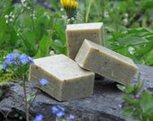 Gardener's HERBAL HAND SCRUB - all natural soap with finely ground pumice and sea kelp granules