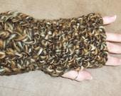 Crochet fingerless gloves your choice of color