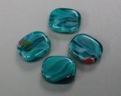 Aqua Swirl Glass