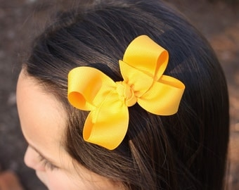 Simply Yellow Gold  3' Basic Bow