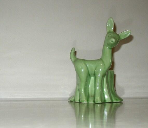 Vintage Ceramic Deer Planter