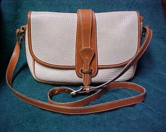 2 tone Dooney and Bourke purse-cross body shoulder bag