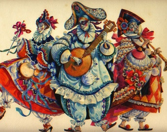 the minstrels