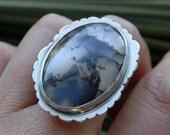 SALE  Wonderland sterling ring
