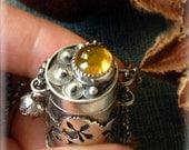 WEEKEND SPECIAL - Secret Bottle Honey Bee necklace