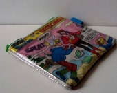 Upcycled Archie comic has been repurposed into a SWEET usuable coin purse