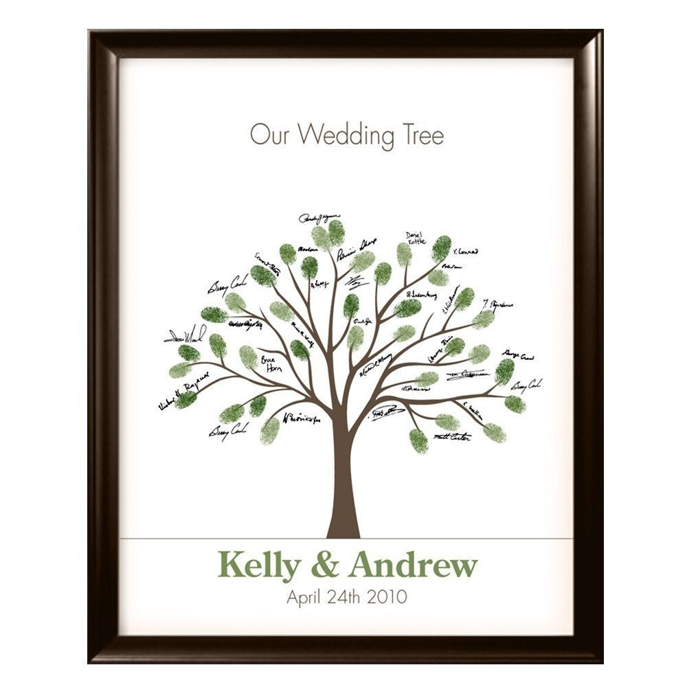 Small Wedding Tree 11x14