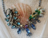 Fantail Fish Oasis Hideaway Necklace.  An Oceanside Dream Reef.  Feels like BEACH TIME.  Kay Adams.