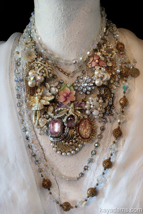 DREAM Necklace. Send Me YouR DeSTasH. Payment for a Kay Adams Custom Collage Necklace With YOUR Family Pieces. YUMM. eeee....