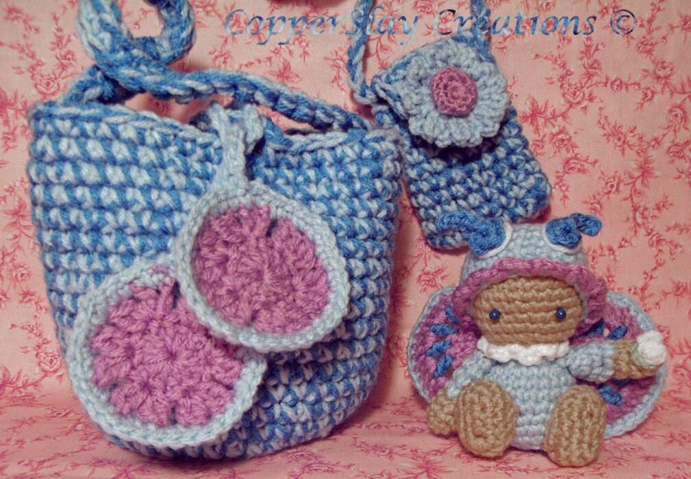 Crochet Pattern Amigurumi doll butterfly schmetterling