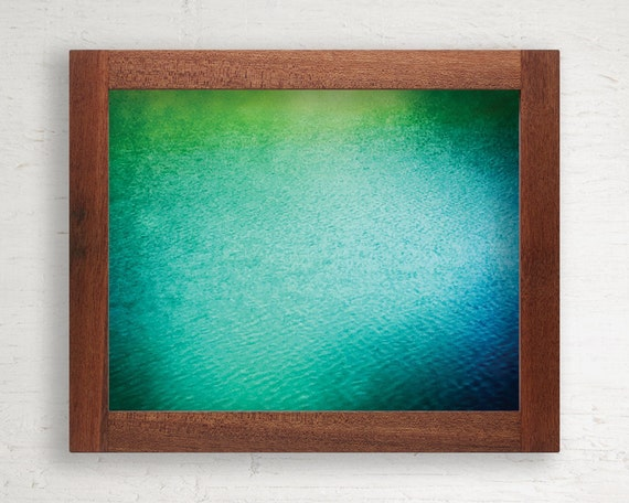 Reclaimed Wood Frame // 11 x 14 // Tropical Hardwood // One of a Kind
